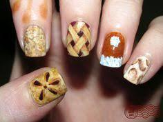 easy thanksgiving nail art cute hair nails makeup pinterest