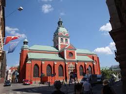 glandmarks st jacobs church stockholm sweden