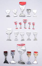 seder cups passover craft for kids make tiny wine cups and eliyahu s goblet