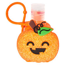 halloween pumpkin holder with lotion claire u0027s