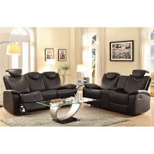 talbot reclining living room set black living room sets