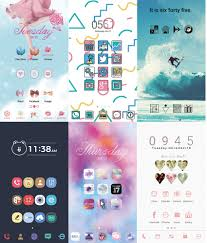 home themes for android make your phone your own home screen customization app line
