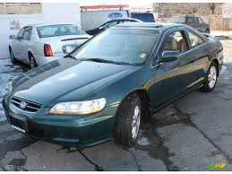 2002 honda accord v6 coupe 2002 noble green pearl honda accord ex v6 coupe 25501277