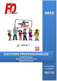 calcul repartition sieges elections professionnelles le guide des élections professionnelles mise à jour fo commerce