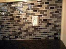 Glass Tile Backsplash Install by How To Cut Glass Tile Backsplash Around Outlets Home Design Ideas