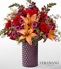 vera wang flowers ftd autumn harvest bouquet by vera wang deluxe fall