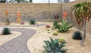 Landscape Ideas For Backyards With Pictures Wonderful Small Backyard Desert Landscaping Ideas Clever
