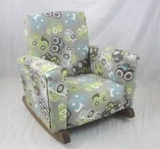 new childrens upholstered rocking chair trucks toddle rock for