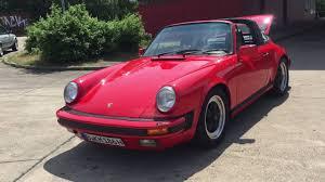 1986 porsche targa porsche 911 g modell 3 2 targa 1986 zu verkaufen for sale