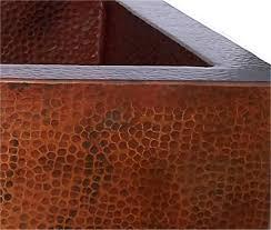 Cheap Copper Kitchen Sinks by Cyberlog New Hammered Copper Kitchen Sink 220222