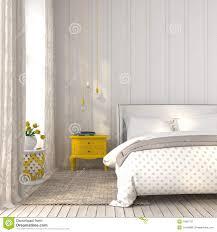 Schlafzimmer Gelber Teppich Helles Schlafzimmer Mit Gelbem Nachttisch Stockbild Bild 53997757