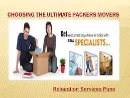 Relocation Estimate by Relocation Services Pune Expert Moving And Packing Company
