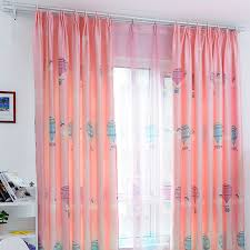 Pink Curtains For Sale Sale Pink Air Balloon Girls Kids Curtains