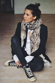 Skinny Jeans And Converse Le Fashion Blog Ways To Wear Black High Top Converse Sneakers Top