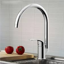 Top Rated Kitchen Sink Faucets Simple Single Radian Handle Two Hole Bathroom Faucet