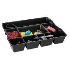 Desk Organizer Tray by Rubbermaid Nine Compartment Deep Drawer Organizer Plastic 14 7 8