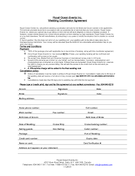 how to be a wedding coordinator wedding planner contract agreement hacks