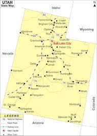 Utah Map Of Cities by Utah Map Jpg