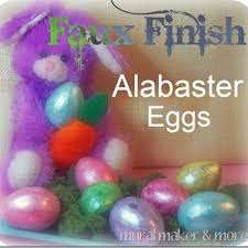 faux easter eggs faux alabaster easter eggs tip junkie