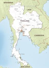 Blank Map Of Central Asia by Thailand Maps