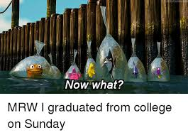 Now What Meme - now what mrw i graduated from college on sunday college meme on me me