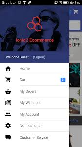 ionic 2 ecommerce app template ionic marketplace
