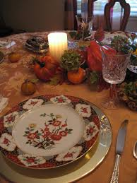 miss bloomers thanksgiving table with momoyama kyoto china