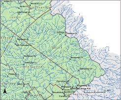 bucks county map stations where ground water recharge was estimated in pennsylvania
