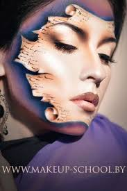 Makeup Schools Bay Area The Award For The Best Tiger Face Paint Thewebawards Com