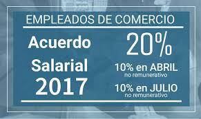 media jornada empledo de comercio 2016 acuerdo salarial de empleados de comercio 2017 sec san juan