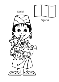 children around the world coloring pages fablesfromthefriends