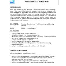 Example Of Cook Resume by Example Of Strength Cover Letter Examples Of Resumes For Cashiers