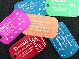 laser engraved dog tags professional laser engraving rotary engraving services vintage