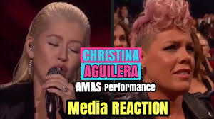 Christina Aguilera Meme - christina aguilera whitney houston amas tribute performance media