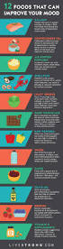 12 healthy foods that can improve your mood infographic top 12 healthy foods that can improve your mood infographic