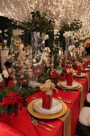 collection of christmas table settings centerpieces all can