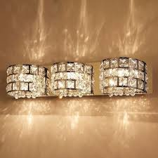 Crystal Bathroom Mirror Best 25 Crystal Bathroom Lighting Ideas On Pinterest Industrial