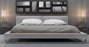 Modern Platform Bed Frames Outstanding Wanda Wenge White Modern Platform Bed Contemporary