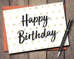 happy birthday card etsy