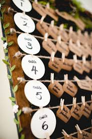 set de table originaux plan de table mariage diy wedding ideas pinterest mariage