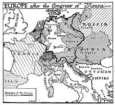 The Map Of Europe by 37 6 The Map Of Europe In 1815 U2014 The Outline Of History By H G Wells
