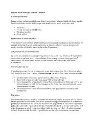 sample nurse manager resume template nursing public health