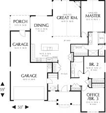 baby nursery 1800 sq ft house plans one story craftsman style
