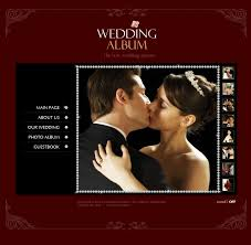 best wedding album website website template 12785 personal wedding page custom website