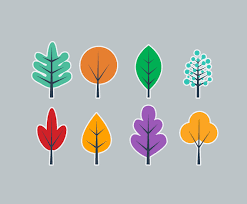 simple tree flat vector vector graphics freevector
