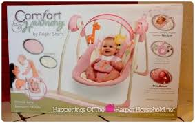 Bright Starts Comfort And Harmony Swing Keep Baby Happy While Traveling This Holiday Season With The