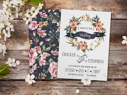 wedding invitations floral brilliant floral wedding invitations floral wedding invitations