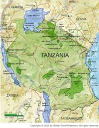 Northern Africa Map by Tanzania Best African Safari Tours