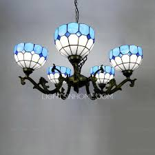 Chandeliers Ls Blue Glass Shade Modern Glass Chandeliers For Living Room