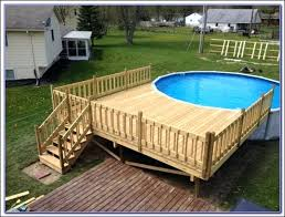 pool plans free free deck plans full size of above ground pool deck plans and